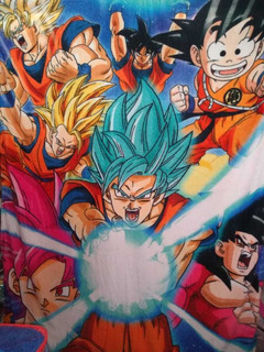 Frazada Individual Goku, Dragon Ball