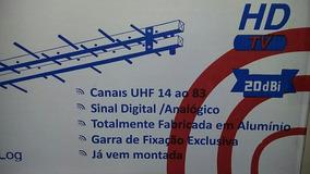 Antena Digital Log17 - 34 Elementos(pronta Entrega )