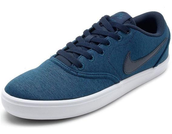 Tênis Nike Casual Sb Check Solar Skate Original Com Nota!!!