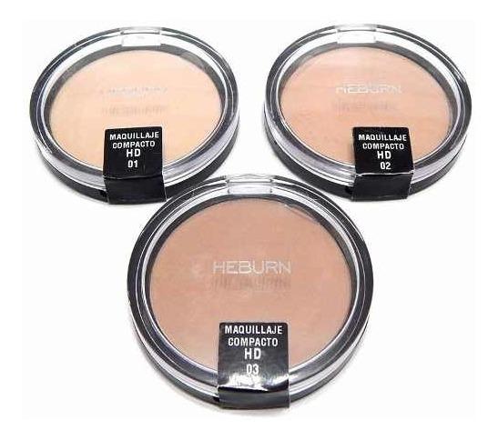 Heburn Prof 707 Maquillaje Polvo Compacto Hd Matificante