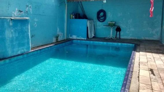 Casa C/piscina 2 Qtos, Sala, Suite, 4 Gar. Etc.r$ 225.mil