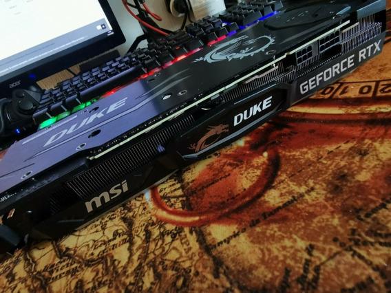 Placa Video Msi Duke Geforce Rtx 2080ti 11gb Gaming X Trio