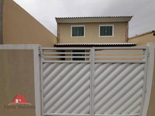 Casa Duplex Nova  C/ 2 Quartos - Cosmos Rj - Ca0335