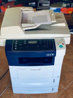 Impresora Multifuncion Xerox Wc 3550 C/solo 40000 Copias