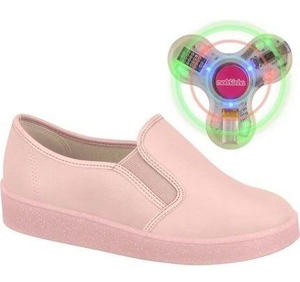 Tênis Infantil Feminino Menina Molekinha 2516100 Com Spinner