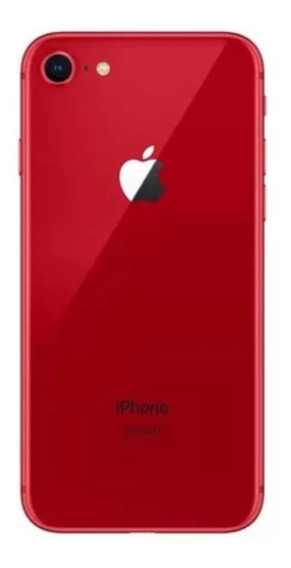 Carcaça Completa iPhone 8 Red Original Apple Traseira Vidro