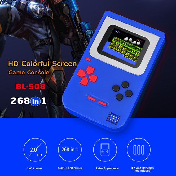 3*handheld Game Console 2 Polegadas W / 268 Jogos Retro Game