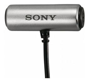 Microfone Sony Ecm-cs3 - Stereo Promoção