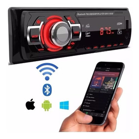 Toca Mp3 Carro Usb Sd Aux Rca Radio Fm First Option 6680 Bom