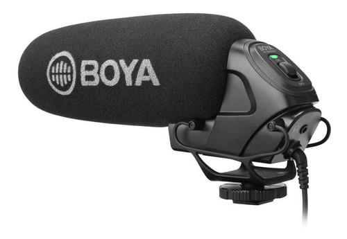 Imagem 1 de 2 de Microfone Direcional Shotgun Boya By-bm3030