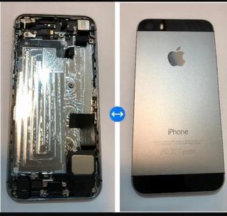 Carcaça Original iPhone 5s Preta + Bateria