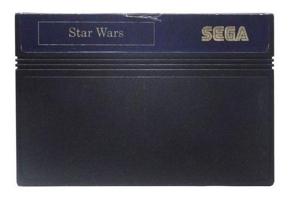 Star Wars Master System Mídia Física Pronta Entrega