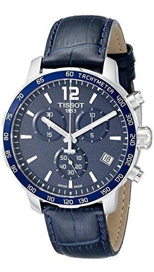 Tissot Hombres T0954171604700 Quickster Reloj De Acero Inoxi