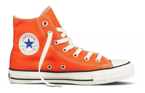 Converse Chuck Taylor All Star Naranja - Envío Gratis