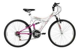 Bicicleta Track & Bikes, Aro 26, 18 Marchas - Tb200w