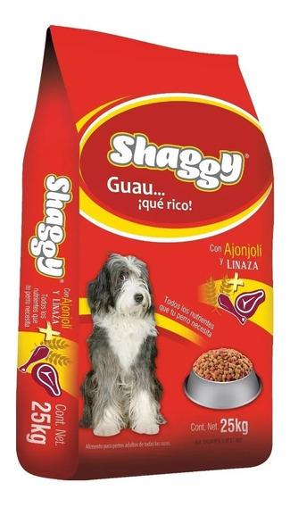 Shaggy Adulto 25kg Croquetas Alimento Para Perro