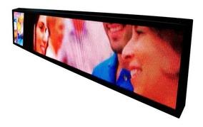 Painel De Led 2m X 40cm P5 Mostra Vídeos Fotos E Textos