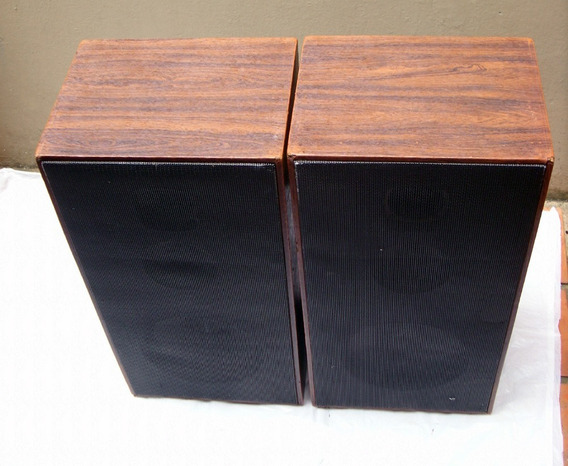 2 Caixas De Som Artesanais Com Tripés Alto-falantes Selenium