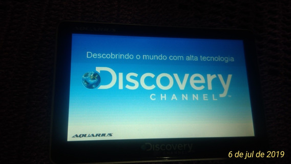 Gps 5 Aquário Discovery Channel