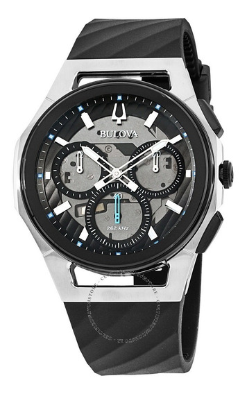 Relógio Masculino Bulova Curv Crono Wb31881w / 98a161 + Nfe