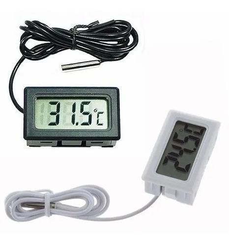 Gm Termometro Digital Para Acuario, Refrigeradora