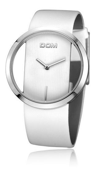 Relógio Feminino Dom Branco