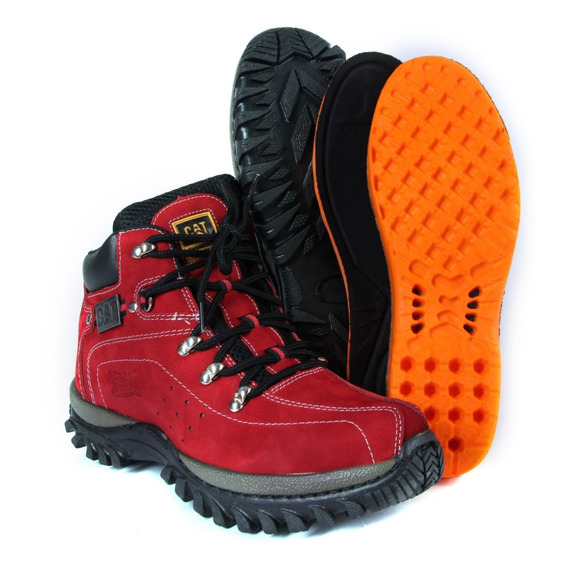 Coturno Bota Caterpillar Adventure Original Top De Linha