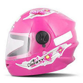 Capacete Liberty Four Girls Kids Rosa 54
