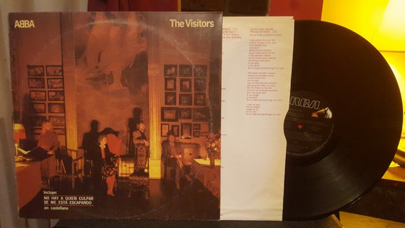 Abba The Visitors Lp Disco Vinilo Ex+