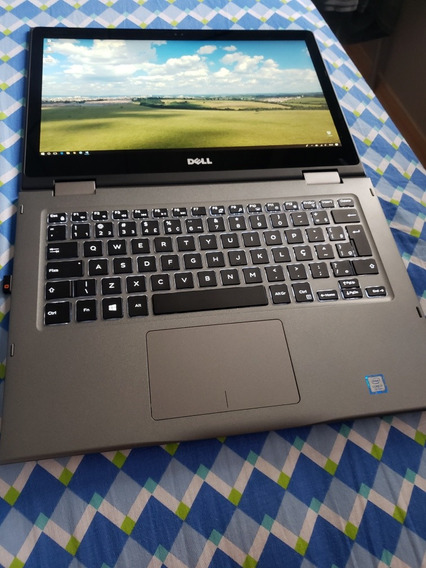 Notebook 2 Em 1 Dell I7 7° Ger. 8gb Ssd 256 Touch Screen