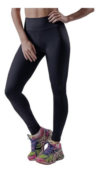 Calça Legging Fitness Preta Grossa Atacado Kit 10