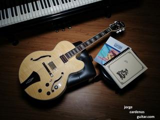 Guitarra Eléctrica, Guitarra Jazz Ibanez Af105nt