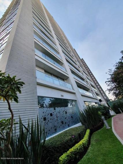 Departamento En Renta En Ampliacion Granada, Miguel Hidalgo, Rah-mx-21-749