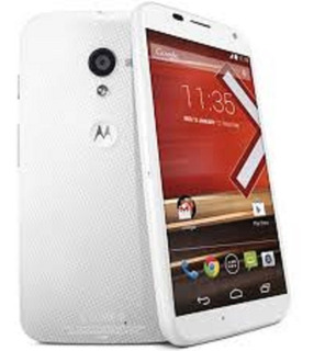 Motorola Moto X1 Xt1058 Tapa Rosada Salmon Solo Mercadopago