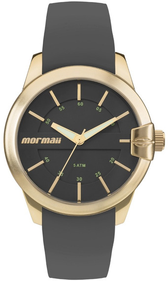 Relógio Feminino Mormaii Garantia Mo2036io/8p Silicone