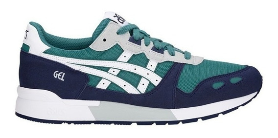 Asics Gel Lyte Green Og Casual Academia Sneakers Retro