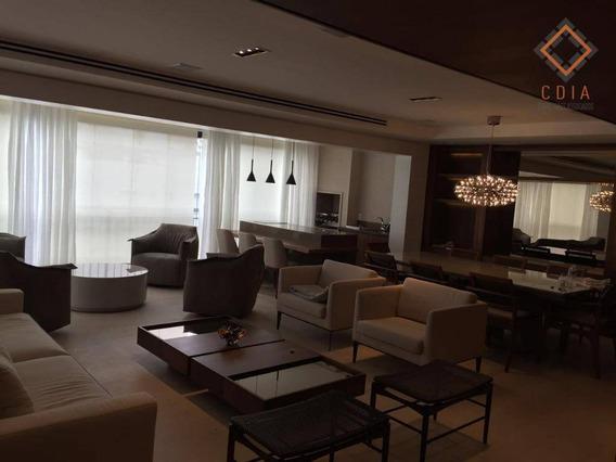 Apartamento Com 3 Dormitórios À Venda, 205 M² Por R$ 2.700.000,00 - Panamby - São Paulo/sp - Ap40386