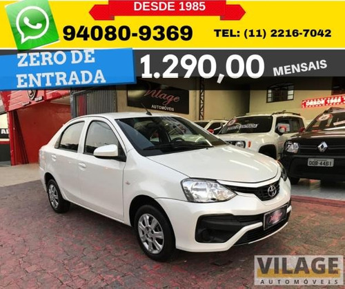 Toyota Etios Sedan 1.5 X Plus 16v 5p 2018 2019