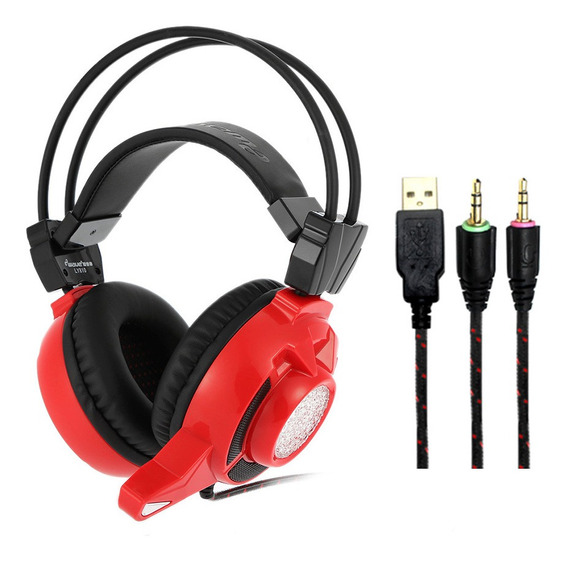 Ewave Ly810 3.5mm Gaming Headset Over Ear Jogo Estéreo