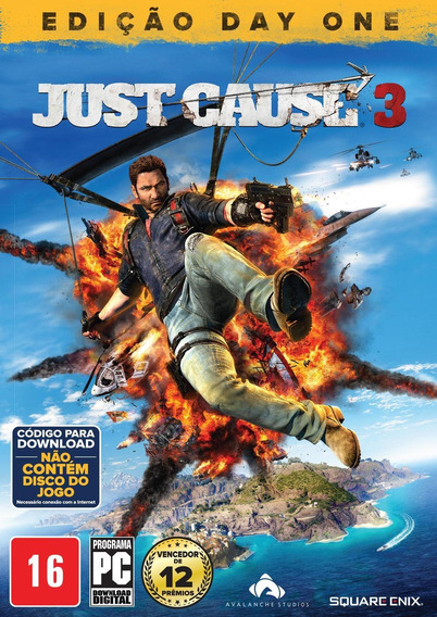 Just Cause 3 - Edição Day One - Pc