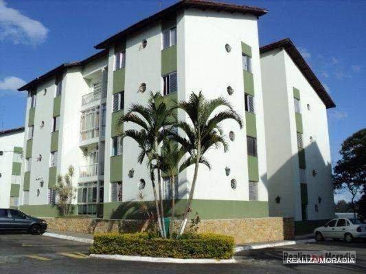 Apartamento Com 3 Dormitórios À Venda, 69 M² Por R$ 325.000,00 - Granja Viana Altos Da Raposo - Cotia/sp - Ap0606