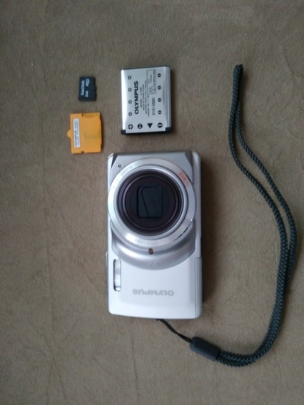 Câmera Digital Olympus Stylus 7010 Prata