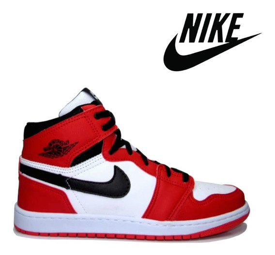Tênis Masculino Air Jordan Chicago 1 Classic Vermelho