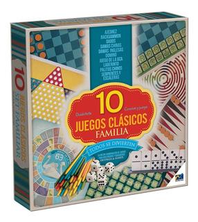 10 Juegos Clasicos Familiar Novelty