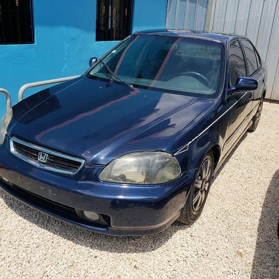 Honda Civic 99 Inicial 75mil Precio 205mil Cel-829-633-0280