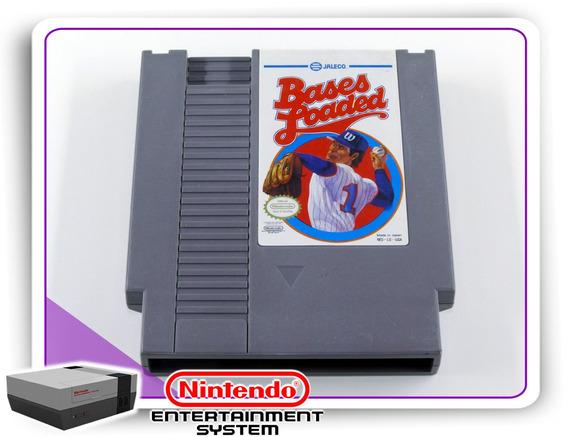 Bases Loaded Original Nintendinho 8bits Nes