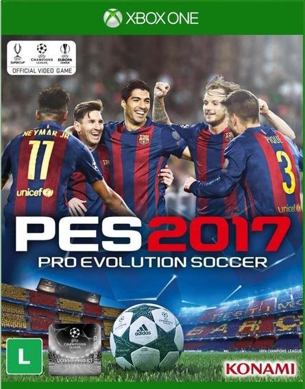 Jogo Pro Evolution Soccer 2017 Xbox One Português Original