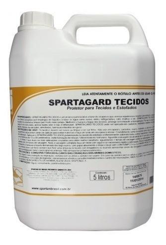 Protetor De Tecidos Estofados Spartagard 5 Litros Base Agua