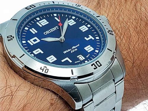 Imagem 1 de 10 de Relógio Orient Masculino Mbss1155a D2sx Oficial Nf-e