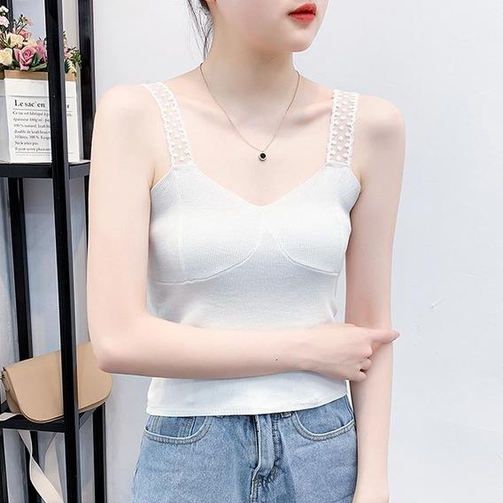 a294a94e2555 Camisolas Blancas De Mujer De Moda - Ropa y Accesorios en Mercado ...